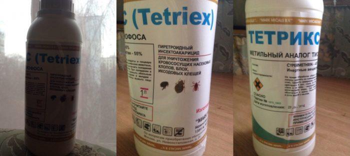 Тетрикс средство от клопов