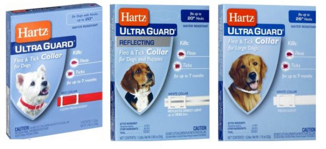 ошейник Hartz UltraGuard Flea & Tick Collar